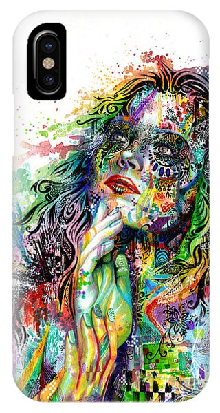 Women iPhone Case - Enigma by Callie Fink