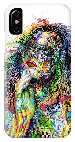 Rainbow iPhone Case - Enigma by Callie Fink