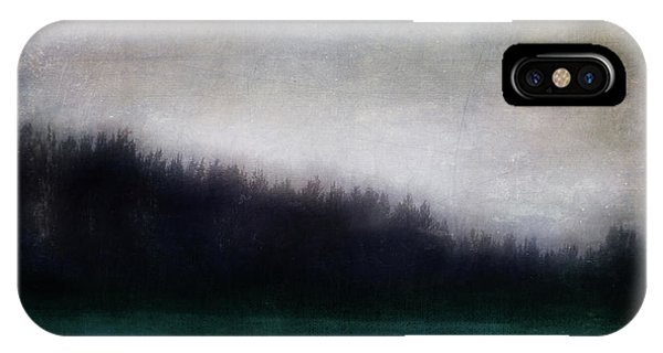 Teal iPhone Case - Enigma by Priska Wettstein