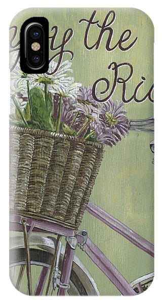 Bloom iPhone Case - Enjoy The Ride by Debbie DeWitt