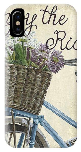 Lavender iPhone Case - Enjoy The Ride Vintage by Debbie DeWitt
