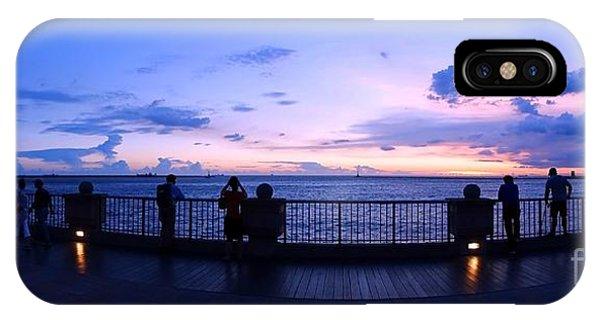 Enjoying The Beautiful Evening Sky IPhone Case