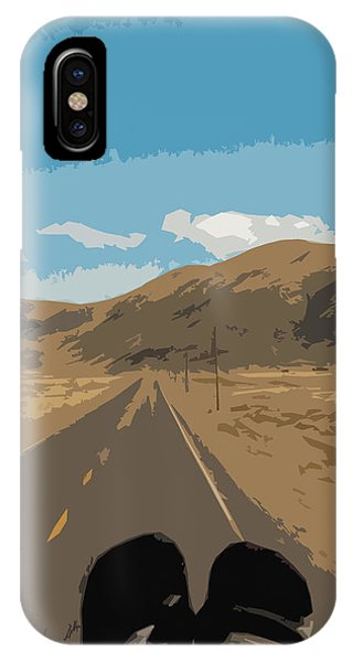 Enjoying The View Of The Peruvian Countryside IPhone Case