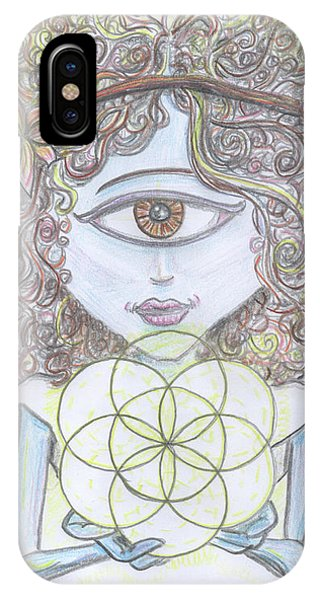 Enlightened Alien IPhone Case