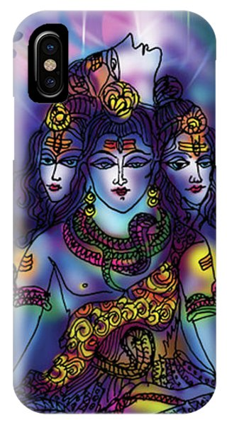 Enlightened Shiva IPhone Case