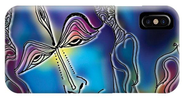 Enlightening Shiva IPhone Case