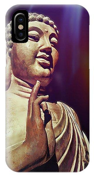 Siddharta iPhone Case - Enlightenment by Jessica Brawley