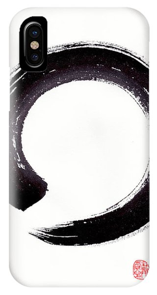 Enso - Embracing Imperfection IPhone Case