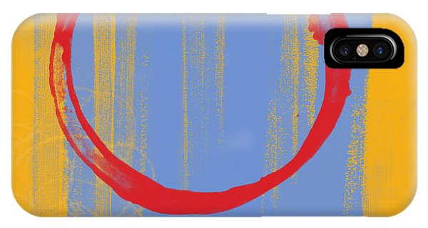 Expressionism iPhone Case - Enso by Julie Niemela