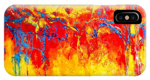 Entangled No. 2 A Reflection Of Life IPhone Case