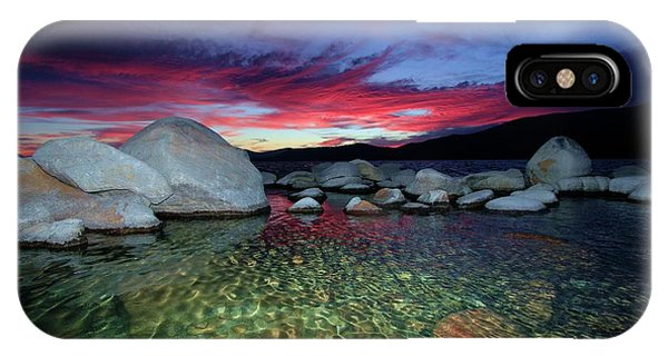 IPhone Case featuring the photograph Enter A Tahoe Dream by Sean Sarsfield