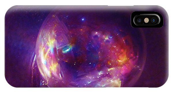 Entering A Wormhole  IPhone Case