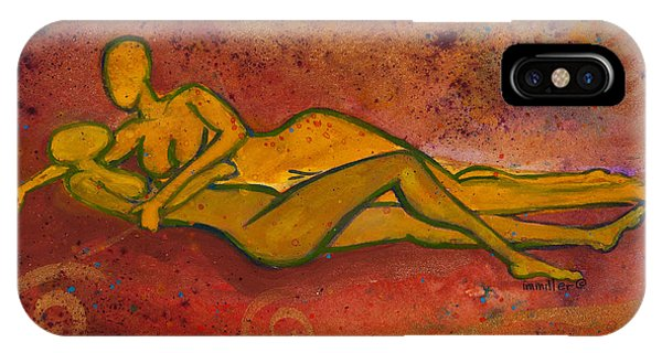 Lgbt iPhone Case - Enthralled Divine Love Series No. 1004 by Ilisa Millermoon