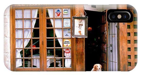 Entrance Paris France IPhone Case