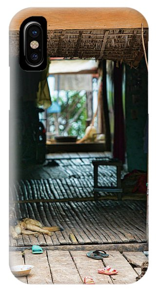 Entrance To Tonle Sap Home  IPhone Case