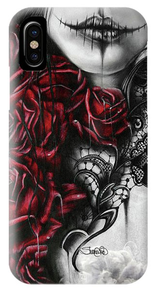 Gothic iPhone Case - Entrap  by Sheena Pike