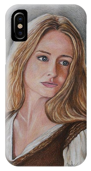 iPhone Case - Eowyn by Christine Jepsen