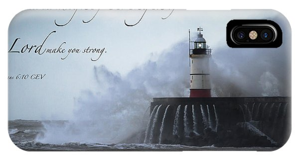 Ephesians 6 10 IPhone Case