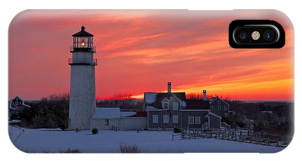 Epic Sunset At Highland Light IPhone Case