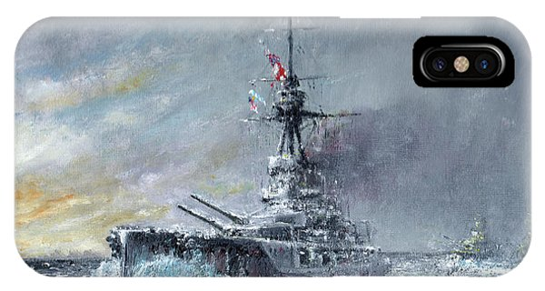 Equal Speed Charlie London, Jutland 1916 IPhone Case