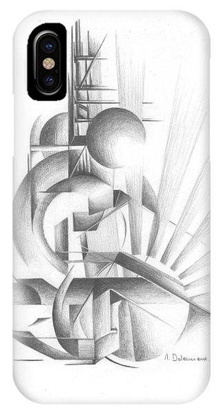 Equilibre Phone Case by Muriel Dolemieux