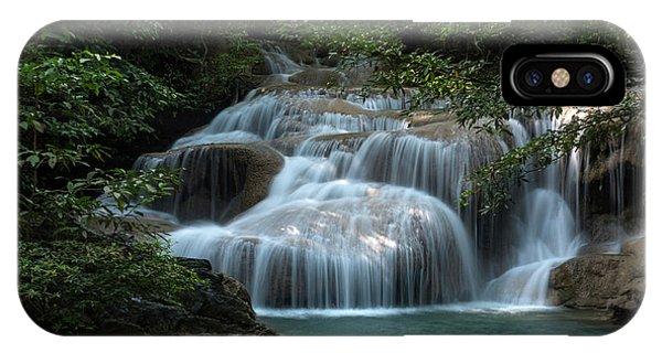 Erawan Falls First Falls IPhone Case