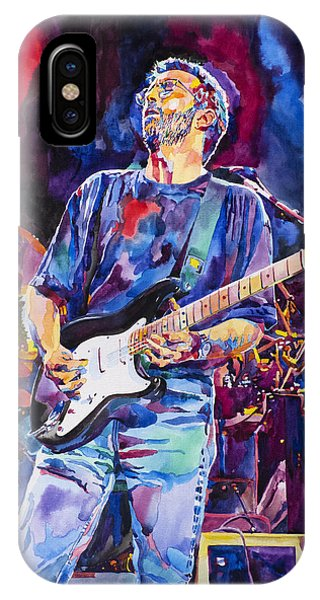 Eric Clapton iPhone Case - Eric Clapton And Blackie by David Lloyd Glover