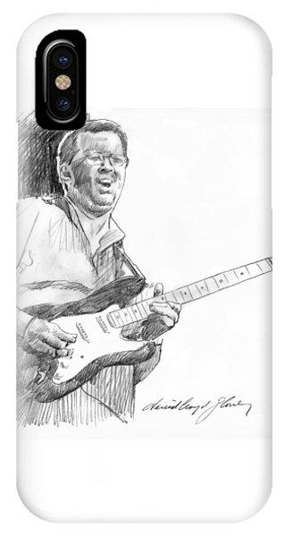 Eric Clapton iPhone Case - Eric Clapton Jam by David Lloyd Glover