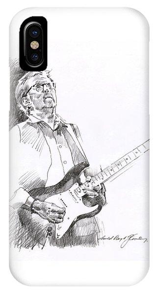 Eric Clapton iPhone Case - Eric Clapton Joy by David Lloyd Glover