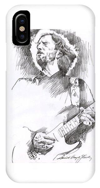 Eric Clapton Sustains IPhone Case
