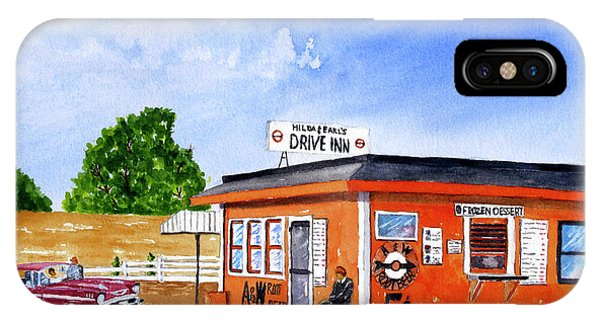 Ericksons Drive Inn IPhone Case