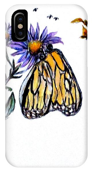 Erika's Butterfly One IPhone Case