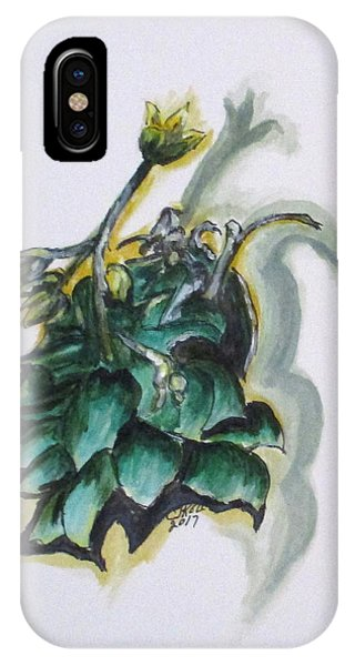 Erika's Spring Plant IPhone Case