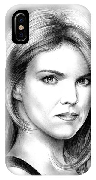 Barbara iPhone Case - Erin Richards by Greg Joens