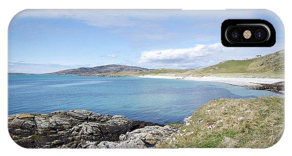 Scotland iPhone Case - Eriskay Bay by Smart Aviation