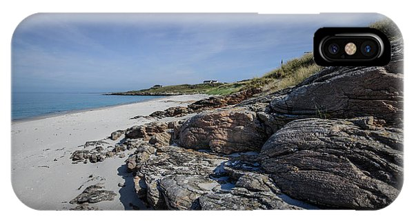 Scotland iPhone Case - Eriskay Beach by Smart Aviation