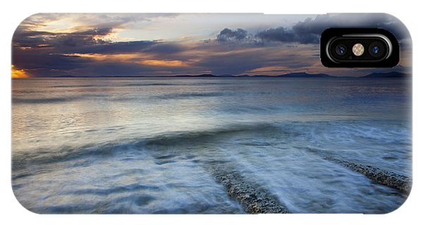 Whidbey iPhone Case - Eroded By The Tides by Mike  Dawson