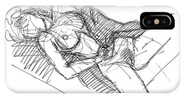 Erotic Art Drawings 7 IPhone Case