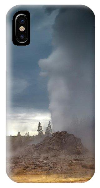 Beautiful Sunrise iPhone Case - Eruption by Edgars Erglis
