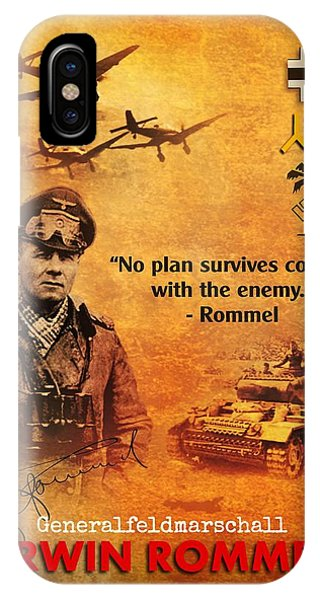 Dive iPhone Case - Erwin Rommel Tribute by John Wills