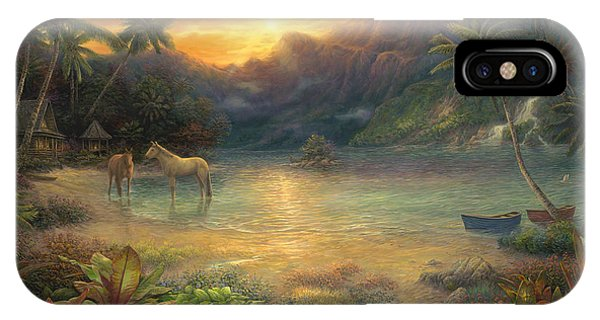 Hawaiian iPhone Case - Escape To Tranquility by Chuck Pinson