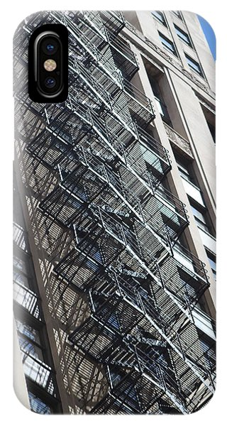 Escaping A Chicago Brownstone IPhone Case
