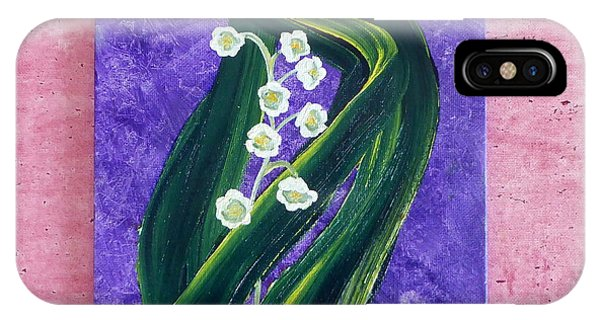 Escaping Winter Lilly Of The Valley IPhone Case