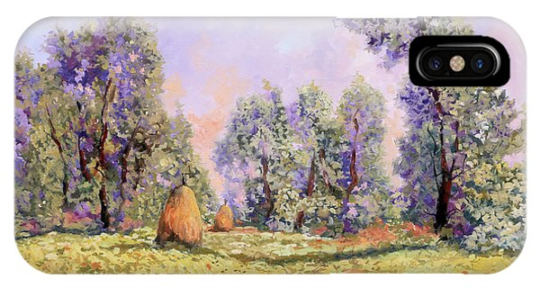 Impressionism iPhone Case - Esercizi Impressionisti by Guido Borelli
