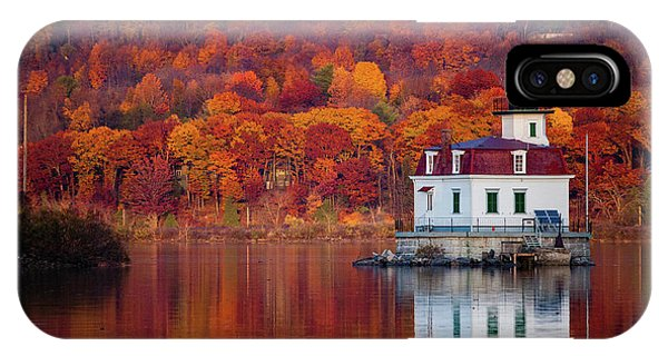 Esopus Lighthouse In Late Fall #1 IPhone Case