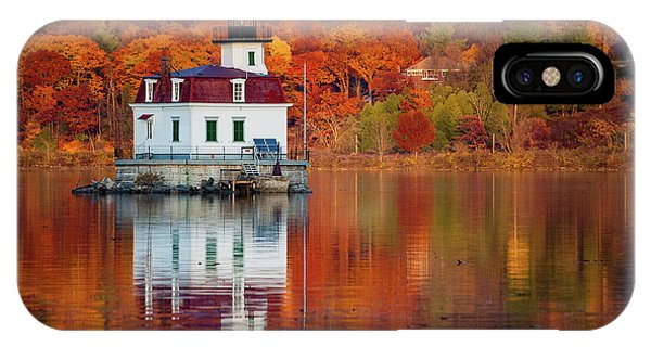 Esopus Lighthouse In Late Fall #2 IPhone Case