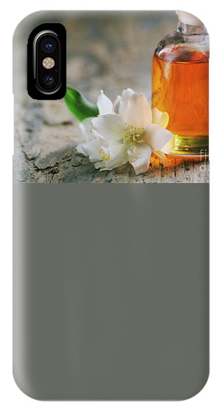 Essential Oil With Jasmine Flower IPhone Case