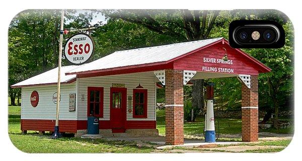 North Carolina iPhone Case - Esso Station by Greg Joens