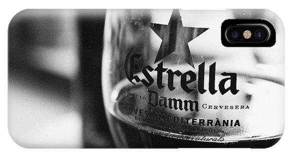 Estrella Damm IPhone Case