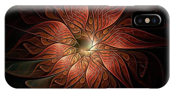 iPhone Case - Etched Petals by Amanda Moore